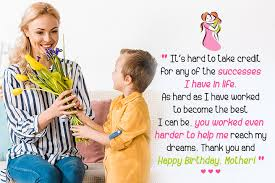Check out these wonderful quotes that celebrate the mother and son relationship. 107 Happy Birthday Wishes For Mom With Love
