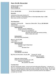 Social Work Resume Objective Berathen Com
