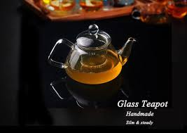 new style handmade new 500ml heat resistant clear glass teapot with infuser lid for tea and return glass teapot handmade with 13 71 piece on