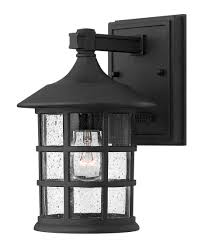 shown in black finish and clear seedy glass