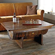 Wine Barrel Fire Pit Table Elegant Handmade Vintage Oak Whiskey Barrel  Coffee Table The