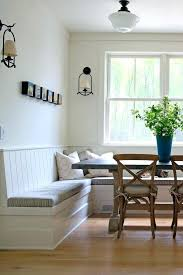 built in bench seating kitchen traditional with wall sconce design ideas