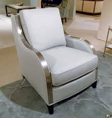 The Celia by Michael Thomas Furniture is a 100 domestic chair including the metal trim which is made in North Carolina It s a
