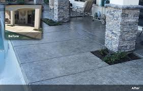 polished concrete stone veneer tile design concrete staining 19