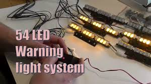 koolertron 54 led warning lights 1