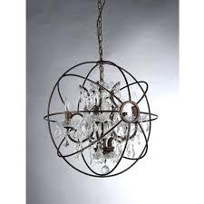 bronze orb chandelier warehouse of spherical 6 light antique oil rubbed