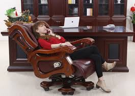 Luxury office chairs Trendy Luxury Massage Chair Boss Leather Reclining Thick High With Office Chairs Decorations Tatasecorg Luxury Office Chairs Tatasecorg