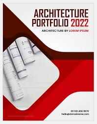 word cover page download architecture portfolio cover pages word excel templates