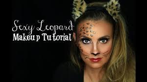 y leopard makeup tutorial angela lanter easy last minute