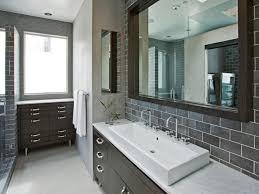 Bathroom Backsplash Styles And Trends HGTV Impressive Tile Backsplash In Bathroom