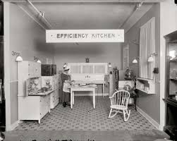 Efficiency Kitchen Shorpy Historic Picture Archive Efficiency Kitchen 1917 High