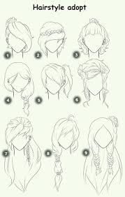 anime hairstyles for girls sketch. Hairstyle Adopt Text Woman Girl Hairstyles How To Draw MangaAnime Inside Anime For Girls Sketch