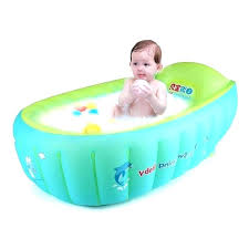 baby bathtub divider bathtub divider for baby new inflatable swimming float safety bath tub swim accessories kids infant portable bathtub divider for baby