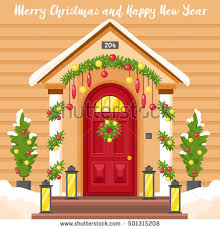 christmas front door clipart. Plain Front Brilliant 90 Christmas Front Door Clipart Design Ideas Of  And M