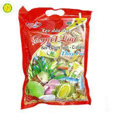 Kẹo dừa Tuyết Lan thập cẩm đặc biệt gói 500g - Quehuongfood.com