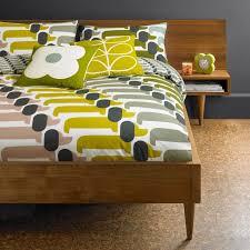 orla kiely dog show standard pillow case pair in multi