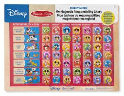 my responsibility chart melissa doug disney mickey mouse my magnetic responsibility chart