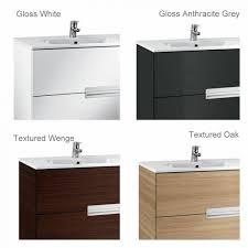 ... Roca Victoria-N 3 Drawer Vanity Unit with Basin ...
