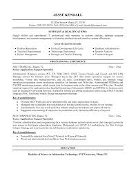 Appealing Application Support Resume Format 86 About Remodel Easy Resume  Builder With Application Support Resume Format