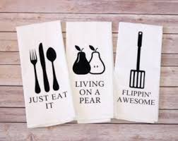 Flour Sack Towels - Song Lyric Tea Towels - They See <b>Me</b> Rollin'