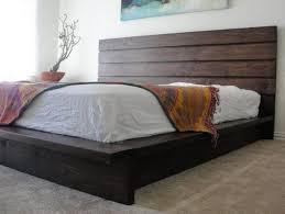 rustic platform bed. Rustic Platform Bed King