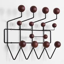 Eames Coat Rack Walnut Eames Replica Hang It All Wall Hanger Coat Rack Black Solid Walnut 20