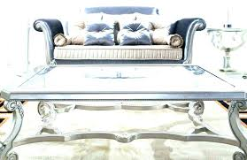 hammered metal coffee table table round
