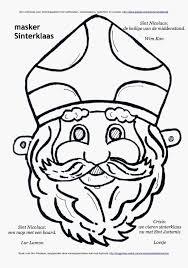 Afbeeldingen Sint En Piet Schets Masker Sinterklaas Kleurplaat