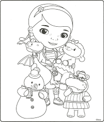 Doc Mcstuffins Coloring Page Doc Mcstuffins Party In 2018