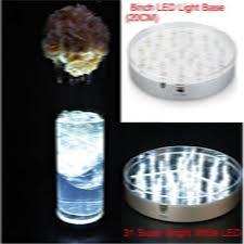 vase lighting. Wedding Centerpiece Vase Lighting !!! 8inch Round Silver Body Mirror Center 31 White LED Under Light Base-in Holiday From Lights \u0026 On
