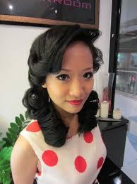 50s makeup 50s makeup and hair perfect 50 s hair and makeup ptetty hair 50s makeup