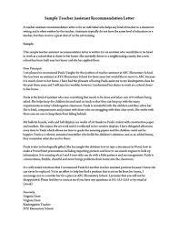 Letter Of Recommendation Template Teacher Recommendation Letter For A Teacher 32 Sample Letters