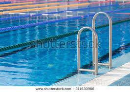 olympic swimming pool lanes. Detail From Olympic Swimming Pool With Swim Lanes E
