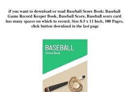 Baseball Score Book Pages Related Post Baseball Scorebook Pdf Template Strand Dna And Encoded