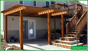 Pergola Designs For Shade Simple And Elegant With Varnished Create Modern  Item Collection Wooden Decorate Exterior Simple