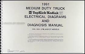 1991 topkick kodiak s7 wiring diagram manual factory reprint