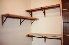 closet shelf brackets wood and rod home design ideas staggering modern 0 rubbermaid shelving closet shelf brackets