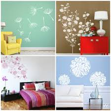 blossoming fl wall decal décor