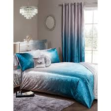 330090 330091 ombre velvet bedding teal