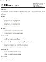 How To Write A Resume For The First Time Inspiration 6110 How To Write A Resume For The First Time First Time Resume Template