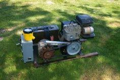homemade generator. Contemporary Generator Homemade Generator Constructed From An Edger Motor Alternator A  Control Panel And Gel Cell Batteries With Generator C