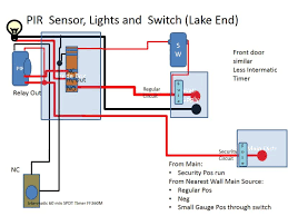 motion sensor light wiring diagram wiring diagram and schematic how to wire 2 or more motion sensors the same lights