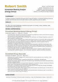 sample resume for investment banking investment banking analyst resume samples qwikresume