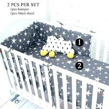 stars baby bedding moon and stars baby bedding black french 9 crib set nursery