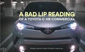 Toyota Enlists Bad Lip Reading For A Series Of Commercials ...