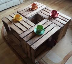 4 x vintage wooden apple crate rustic wood box wedding decor coffee table occasional table cottage living photo prop