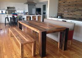 Distressed Wood Kitchen Table 34 Incredbile Reclaimed Wood Dining Tables