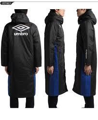 umbro men s long coat umbro batting bench coat winter wear hooded graphic soccer football men lightweight thermal insulation of outer wear uca1640b
