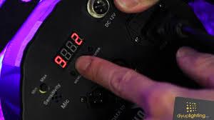 Chauvet Rgb Color Chart Setting A Custom Color On The Chauvet Slim Par 56 Led Light