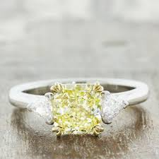 Yellow Diamond Vs White Diamond 26 Yellow Diamond Engagement Rings That Are Anything But Boring